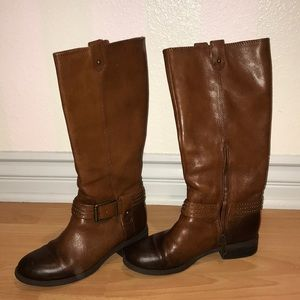 Jessica Simpson brown ombre fall boots